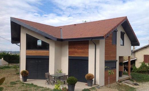 Constructeur maison ossature bois en Isère (38)